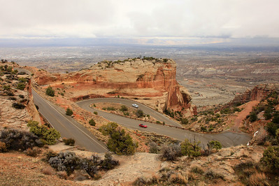 "COLORADO 7753  ""Rim Rock Drive""  Colorado National Monument"