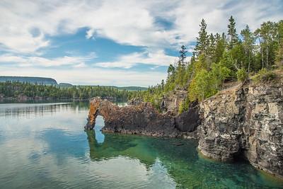"ONTARIO 9393  ""The Sea Lion""  Sleeping Giant Provincial Park"