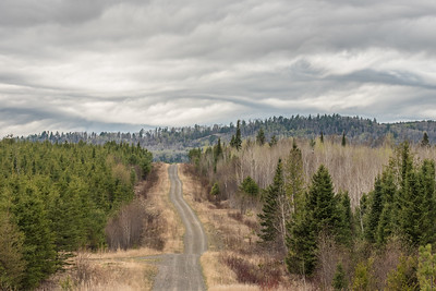 "ONTARIO 4991  ""Storm clouds over Arrow River Road"""