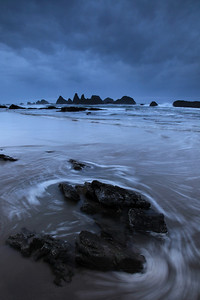 "OREGON 3321  ""Stormy morning at Seal Rocks"""