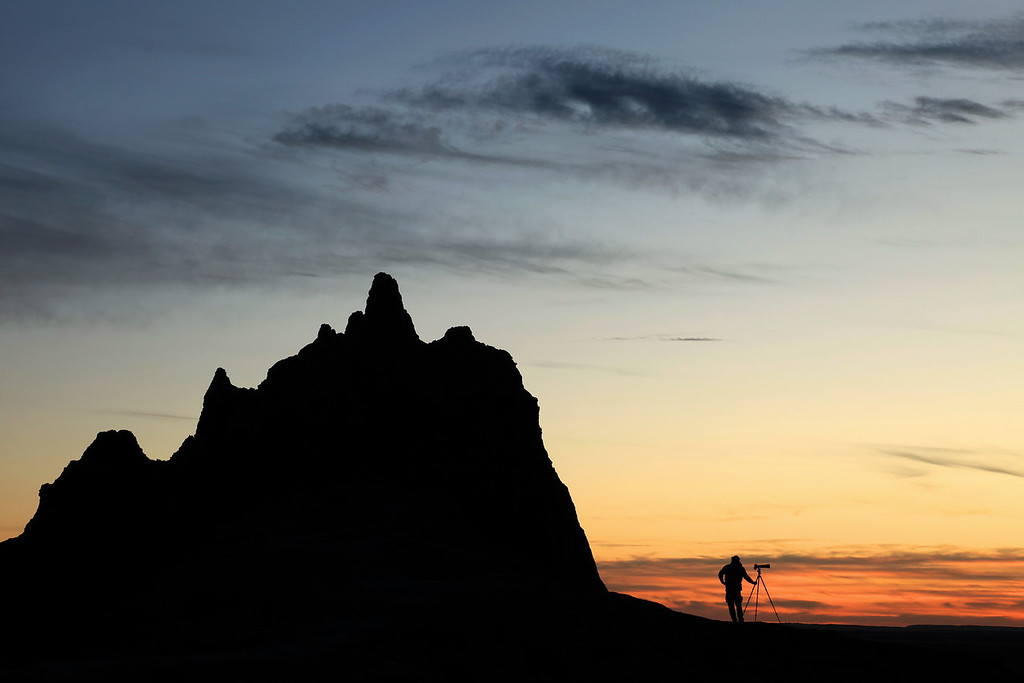 "SOUTH DAKOTA 9803<br /> <br /> ""The Magic Hour""<br /> <br /> Badlands National Park"