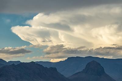 """Storm Building over Big Bend"""