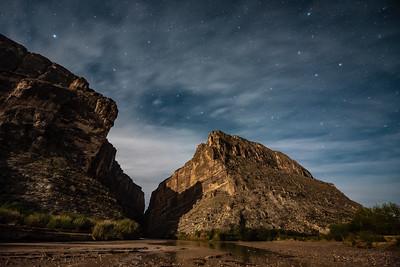 """""""Santa Elena Canyon Moonlight"""""""