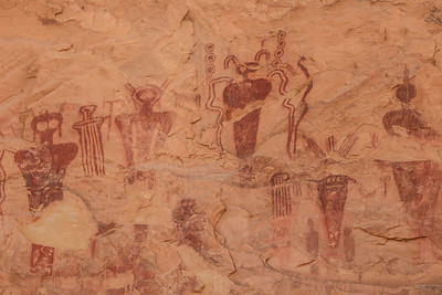 "UTAH 2047  ""Sego Canyon Rock Art"""