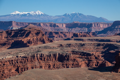 """View from the White Rim Road"""