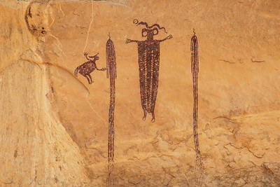 "UTAH 2022  ""Head of Sinbad Rock Art"""