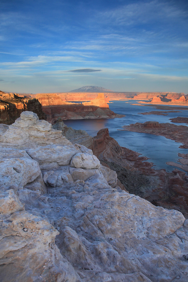 "UTAH 7345  ""Lake Powell Sunset, Alstrom Point""  Glen Canyon National Recreation Area"