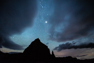 """Breaking Sky over Cathedral Valley"""