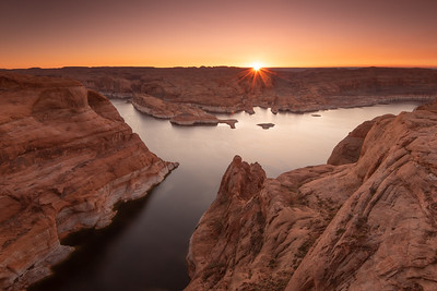 """November Sunrise over Lake Powell"""
