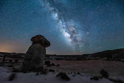 """Milky Way over The Toadstools"""