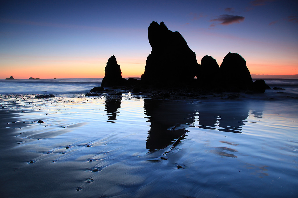 "WASHINGTON 2425<br /> <br /> ""Sunset on the Olympic Coast""<br /> <br /> Olympic National Park"