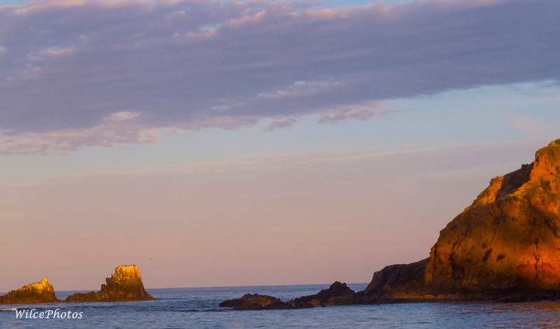 Crescent Bay and Seal Rock