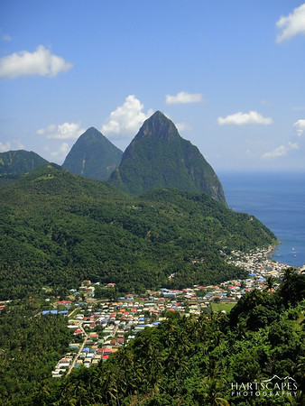 St. Lucian Pitons