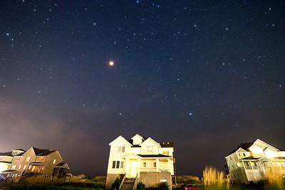 Lunar Eclipse Star Field