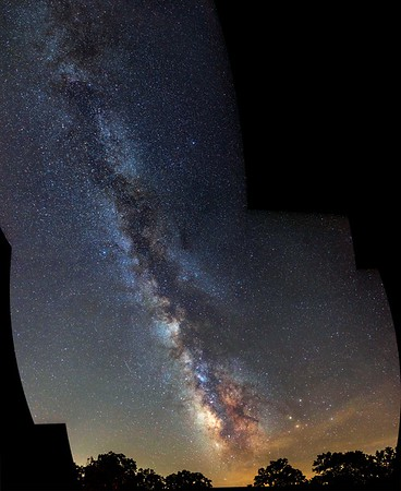Long Milky Way