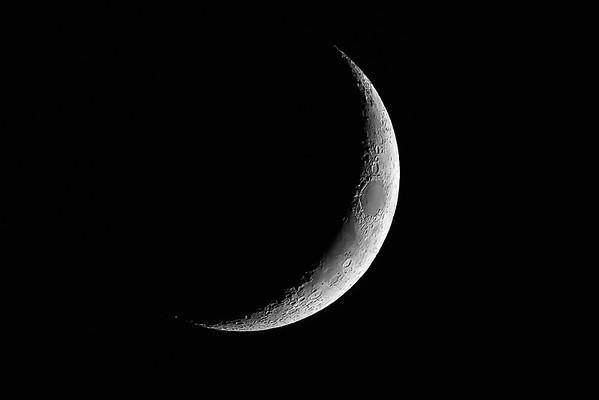 Moon - 4 days old