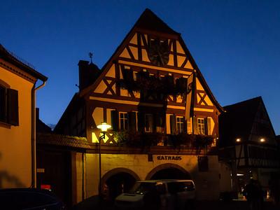 das Rathaus--Ilbesheim, Germany