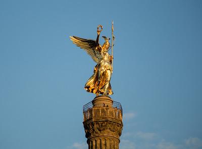 Die Siegessäule--Berlin, Germany