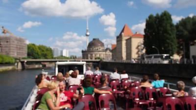 eine Kreuzfahrt auf dem Spree--Berlin, Germany