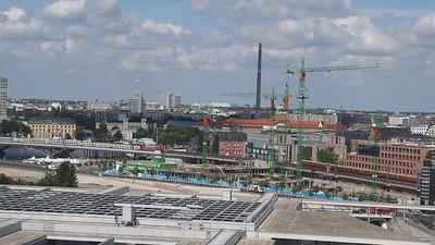 ein Ausblick von der Reichstag--Berlin, Germany
