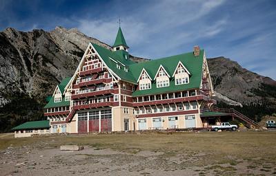 Prince of Wales Hotel, Glacier National Park, Canada