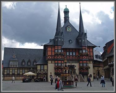 das Rathaus--Wernigerode, Germany