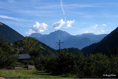 die Alpen--Süd Tirol, Italien