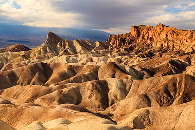 Manley Peak from Zabriskie Point