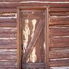 Rustic Weathered Red Door