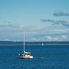Sailboat in Bellingham Bay