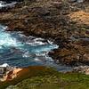 Swirling Tide on the Rocky Coastline of Big Sur