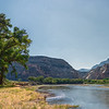 Trail to Mitten Park Along the Green River Colorado