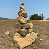 Trail Cairn Along Sweetwater Trail