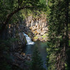 Upper McCloud River Waterfall from Above
