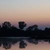 Dusk at the Cosumnes River Wildlife Refuge