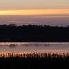 Cosumnes River Wildlife Refuge at Sunset