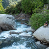 Afternoon on the South Fork of the Kaweah River