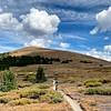 Mountain Biker on the Colorado Trail