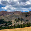Panorama of Mount Guyot and Ridges