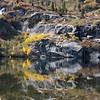 Upper Angora Lake in Autumn