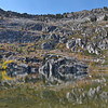 Upper Angora Lake in Autumn II