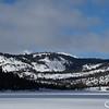 Desolation Wilderness Beyond a Frozen Echo Lake