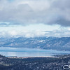 Incoming Snowstorm Over Lake Tahoe