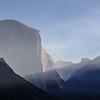 Sunrise and Smoke on El Capitan