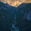 Evening Light and Shadow in Yosemite Valley