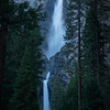 Yosemite Falls in the Shadow of Afternoon