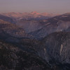Eastern Sierra Mountains at Sunset