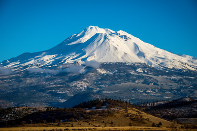 Mount Shasta, CA, December 2016.