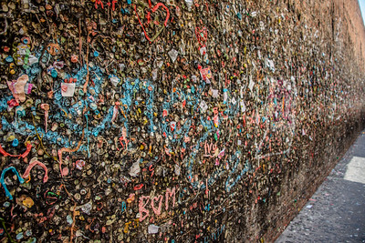 Gum Alley, Downtown San Luis Obispo, California, May 2017.