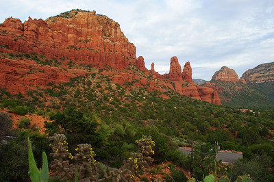View from the Chapel of Holy Cross in Sedona, Arizona in September 2012.